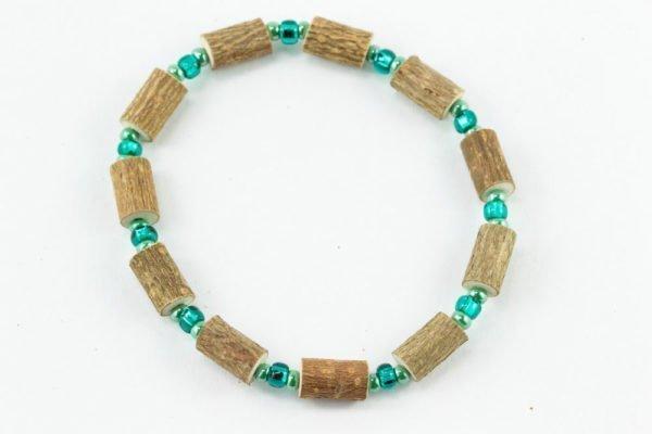 Bracelet Cheville Femmes Noisetier - Vert clair/Vert menthe