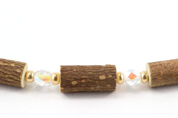 Bracelet Cheville Femmes Noisetier - Clair/Or