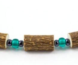 Bracelet Femmes Noisetier - Vert/Hématite