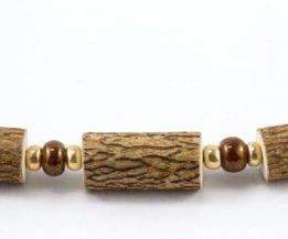 Bracelet Femmes Noisetier - Brun/Or