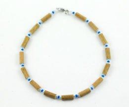 Collier Bébé Noisetier - Bleu foncé/Bleu pâle