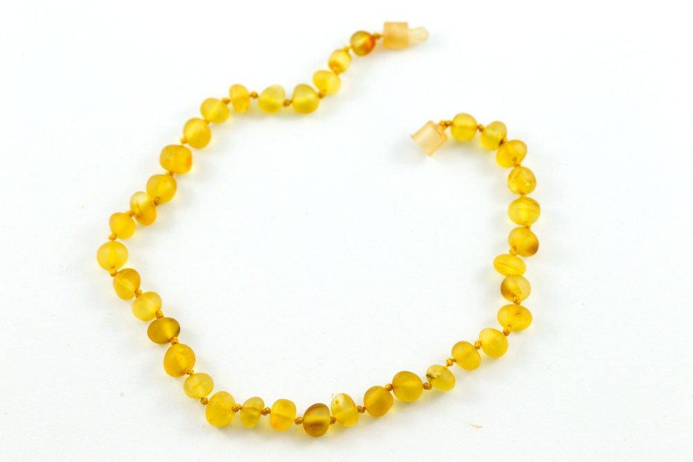 100 Certified Balticamber Children Necklace Pop Clasp Raw