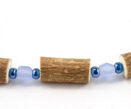 Collier Femmes Noisetier - Bleu givré/Bleu